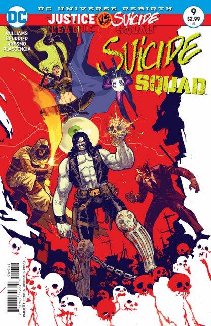 Suicide Squad #9 cover