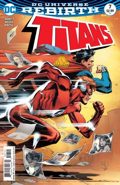 Titans #7 cover
