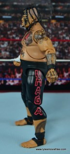 WWE Elite 40 Umaga figure review - left side