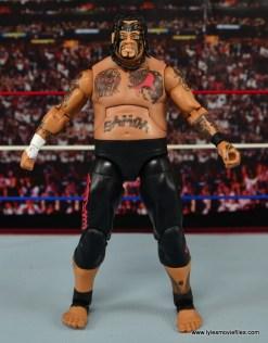 WWE Elite 40 Umaga figure review - straight