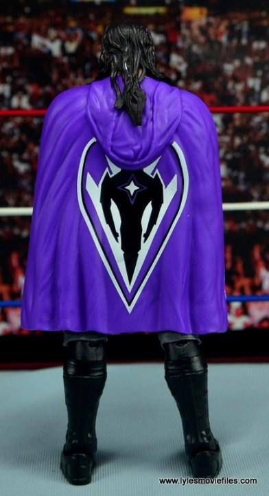 WWE Elite 42 Neville figure review - cape rear