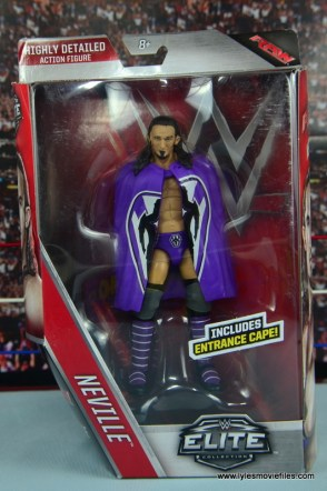 WWE Elite 42 Neville figure review - front package