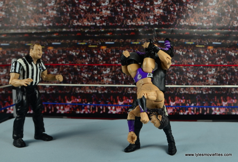 WWE Elite 42 Neville figure review - huricarana to Kevin Owens
