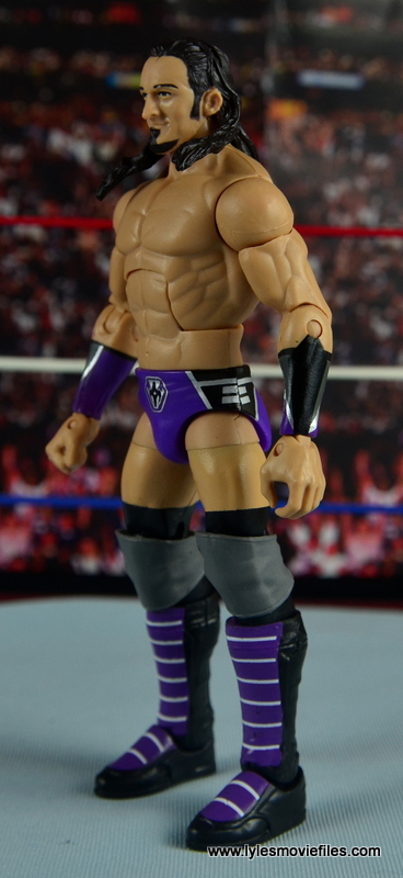 WWE Elite 42 Neville figure review - left side