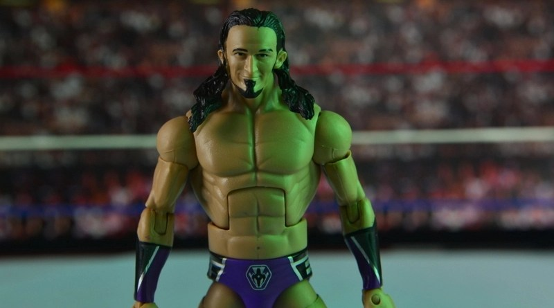 WWE Elite 42 Neville figure review - main pic