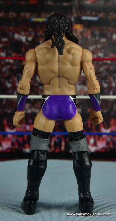 WWE Elite 42 Neville figure review - rear