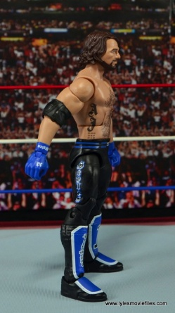 WWE Elite AJ Styles figure review - right side