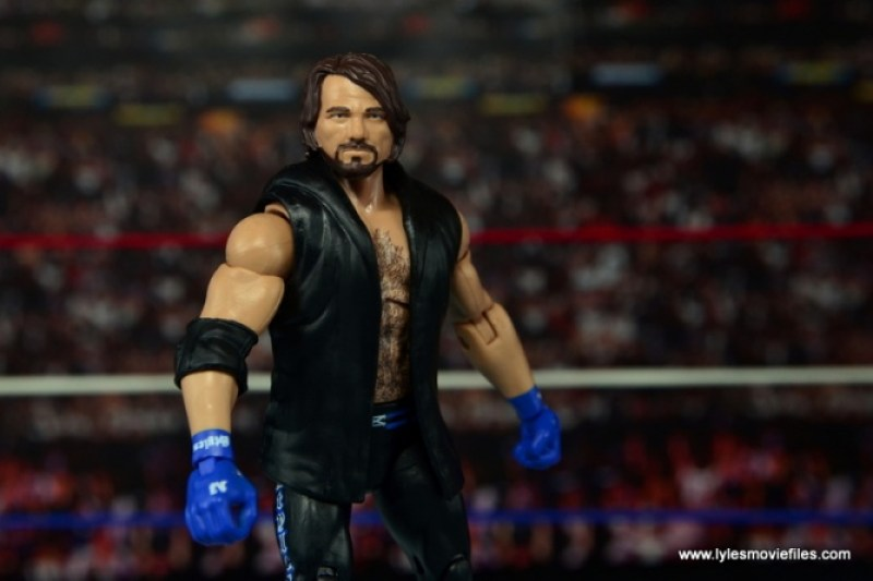 WWE Elite AJ Styles figure review - wide main pic
