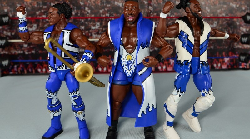 WWE Elite New Day figure review - New Day dancing