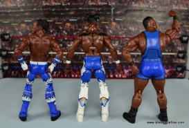 WWE Elite New Day figure review - New Day rear
