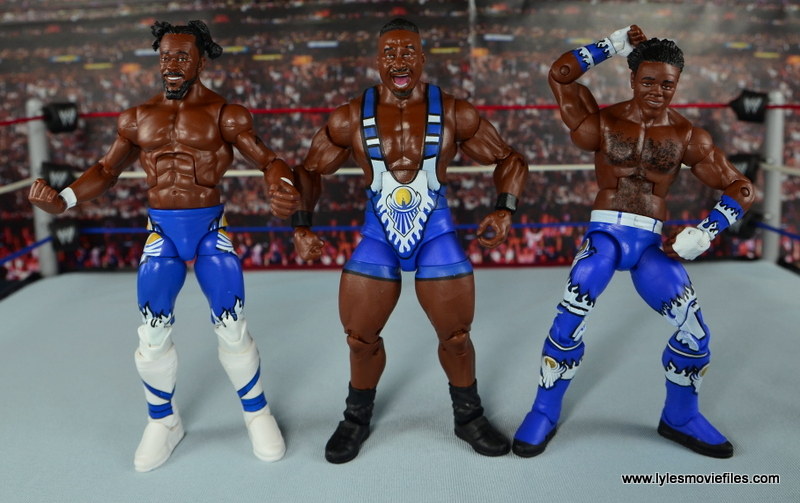 WWE Elite New Day figure review - New Day straight