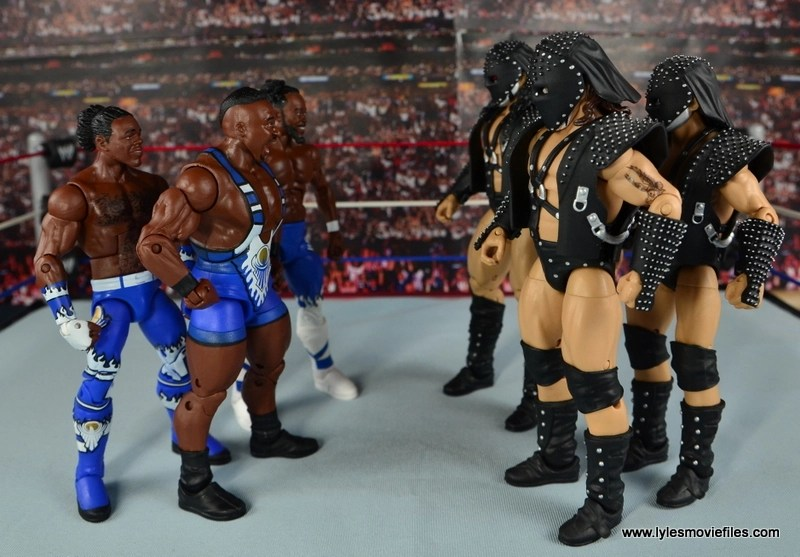 WWE Elite New Day figure review - face off with Demolition