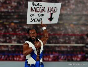 WWE Elite New Day figure review - main Kofi Kingston