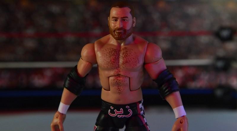 WWE Elite Sami Zayn figure review - main pic