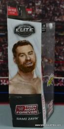 WWE Elite Sami Zayn figure review - package side