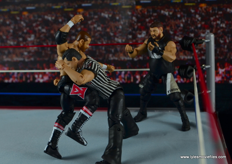 WWE Elite Sami Zayn figure review - trying to get at Kevin Owens