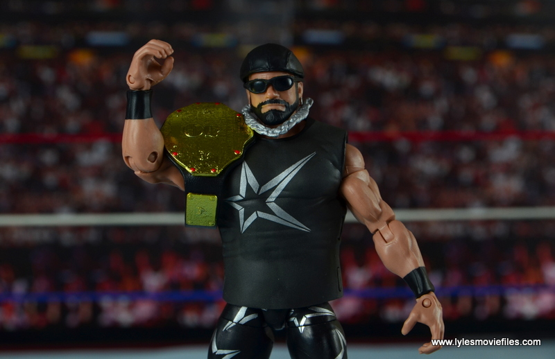 WWE Elite Then Now Forever Macho Man Randy Savage figure review - with WCW title