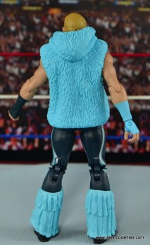 WWE Elite Tyler Breeze figure review - rear