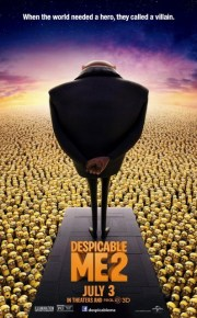 despicable me two poster