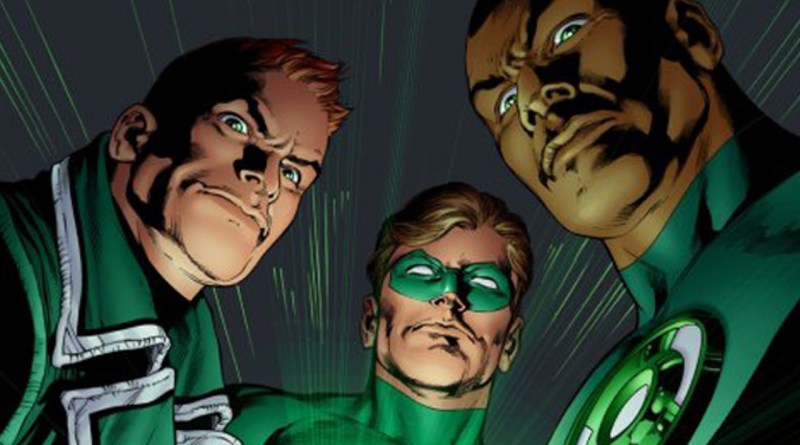 green-lantern-guy gardner-hal-jordan-and-john-stewart