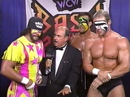 Bash at the Beach 96 Savage, Mean Gene, Sting and Luger
