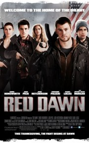 red_dawn movie poster