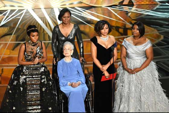 2017 Oscars - Hidden Figures cast