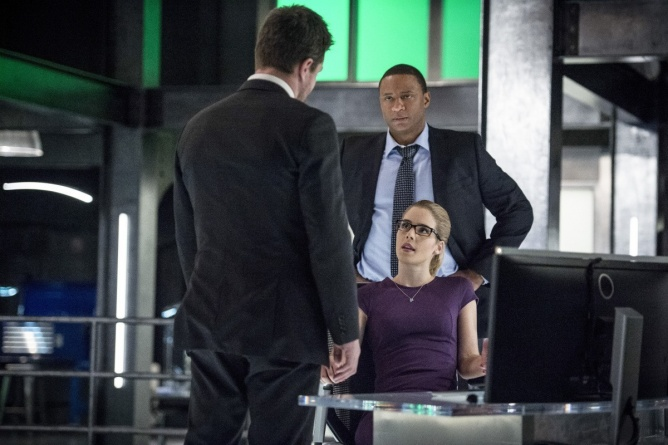 Arrow Bratva review - Oliver, Diggle and Felicity