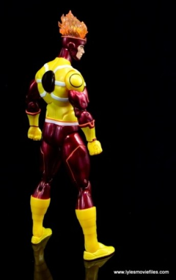 DC Icons Firestorm figure review - rear right side