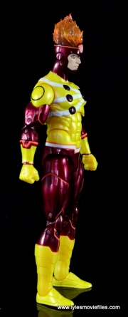 DC Icons Firestorm figure review - right side