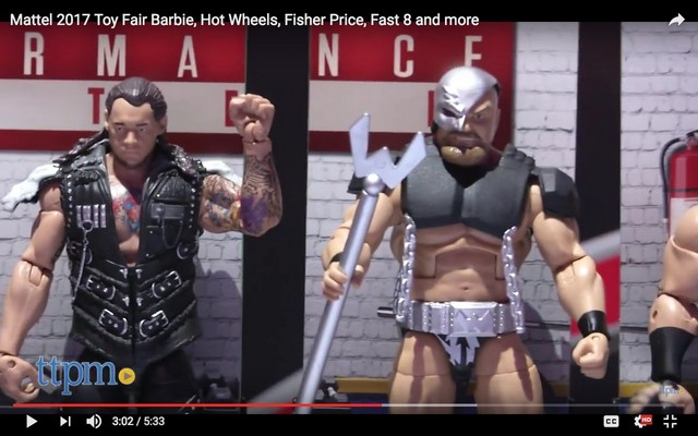 Elite 50 Warlord and Baron Corbin