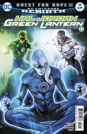 Hal Jordan and the Green Lantern Corps #14 cover