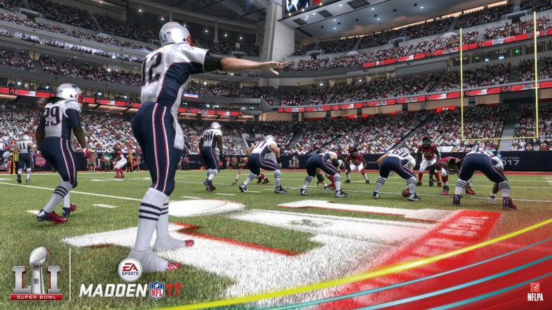 Madden NFL 17 Super Bowl - Patriots vs Falcons