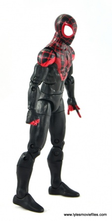 Marvel Legends Miles Morales figure review - right side