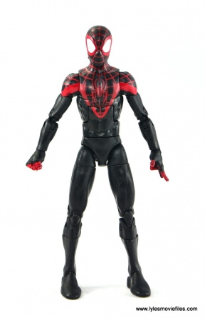 Marvel Legends Miles Morales figure review - straight
