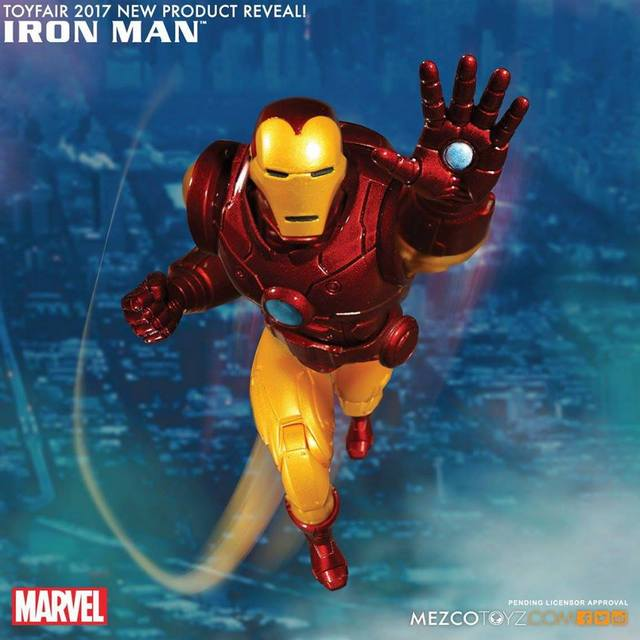 Mezco Toyz One:12 Iron Man