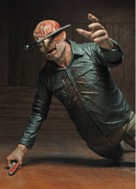NECA Ultimate Jason figure - machete in head