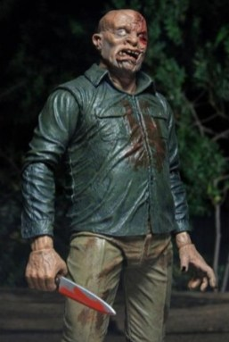 NECA Ultimate Jason figure -unmasked with knife