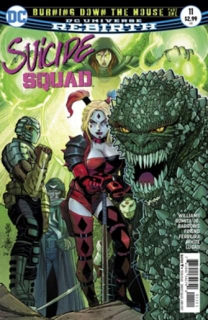 Suicide Squad #11 cover