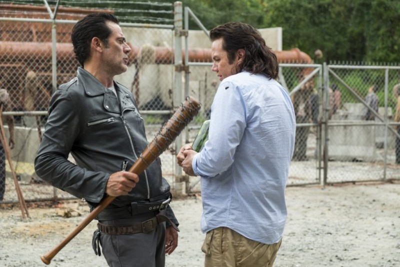 The Walking Dead Hostiles and Calamities - Negan and Eugene