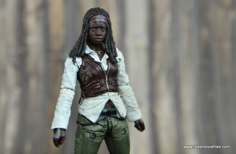 The Walking Dead Michonne figure review - main pic