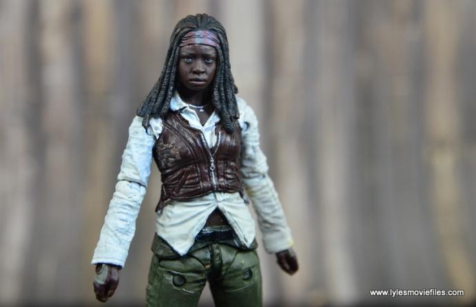 The Walking Dead Michonne figure review - wide