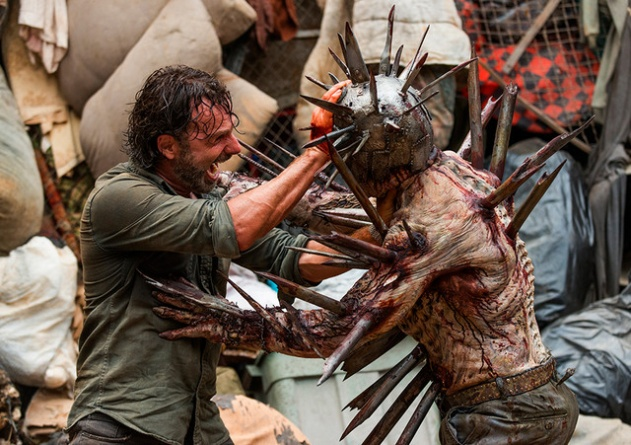 The Walking Dead New Best Friends -Rick vs Winston