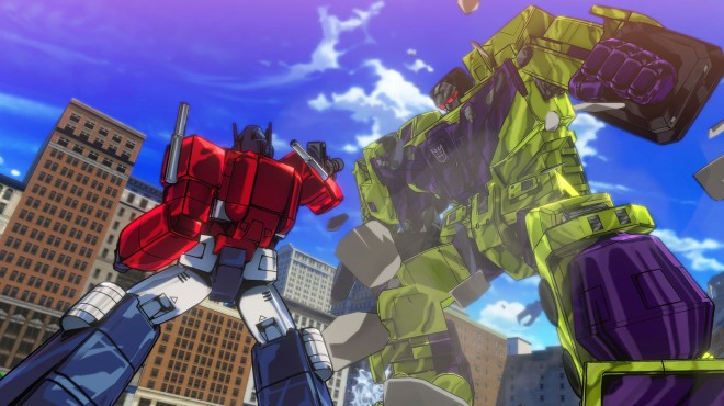 Transformers Devastation review - Optimus Prime vs Devestator