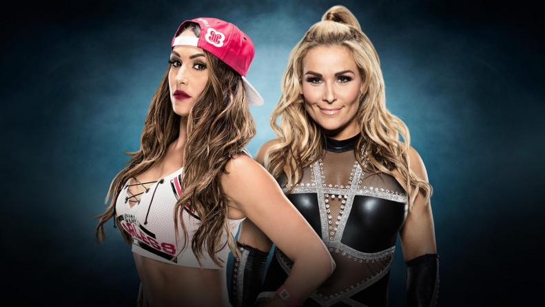 WWE Elimination Chamber 2017 - Nikki Bella vs Natalya