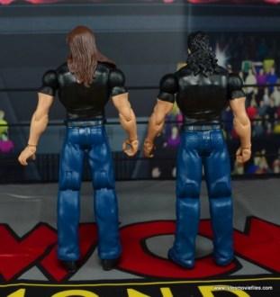 WWE Mattel The Outsiders Battle Pack figure review - rear