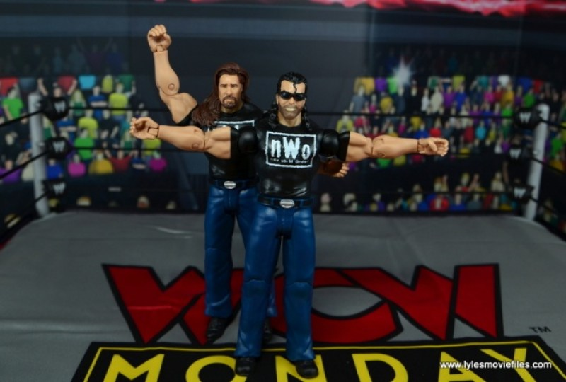 WWE Mattel The Outsiders Battle Pack figure review -signature pose