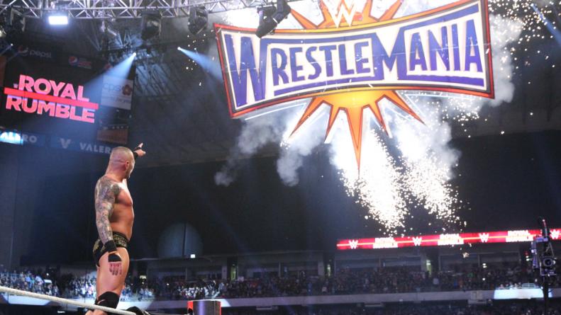 WWE Royal Rumble 2017 - Randy Orton points to future Wrestlemania title shot