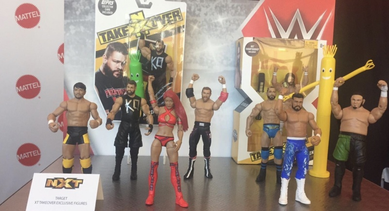 WWE Build a Bayley buddy NXT set