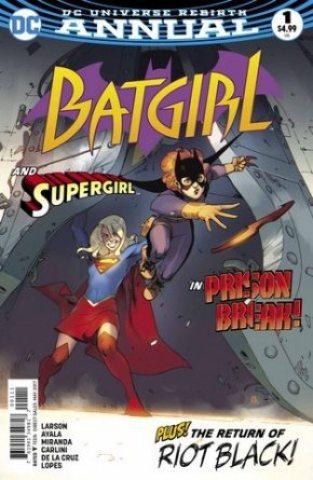 Batgirl Annual #1 cover